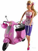 Кукольный набор Штеффи на скутере Simba 5730282