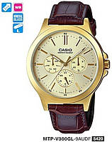 Мужские часы Casio MTP-V300GL-9AUDF Standard, фото 1