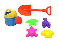Набор для игры с песком Same Toy с Лейкой 6 шт HY-1504WUt