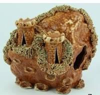 Декорации для аквариума Керамика Замок скала