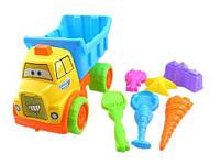 Набор для игры с песком Same Toy с Машинкой 7 шт HY-1303WUt