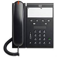 Телефон Cisco UC Phone 6911, Charcoal, Slimline handset (CP-6911-CL-K9)