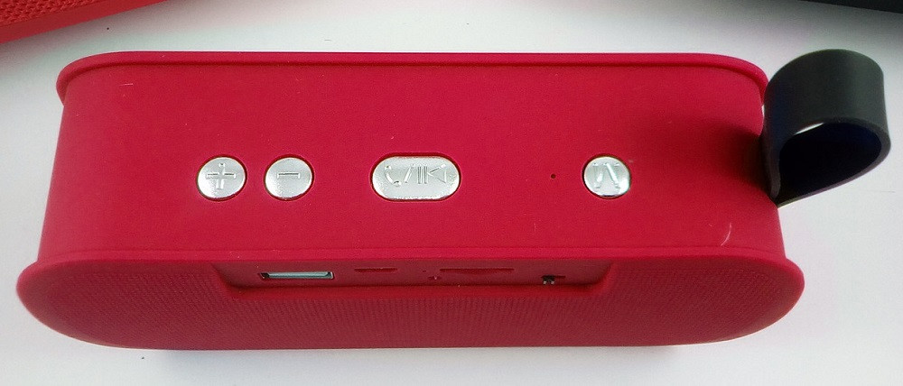 Портативная bluetooth колонка MP3 плеер SPS M168 Red