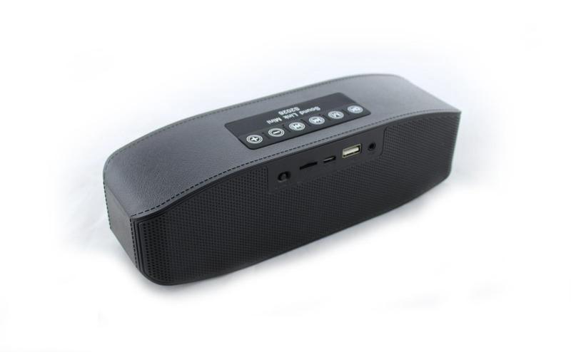 Портативная bluetooth колонка MP3 плеер SPS S2026 Black