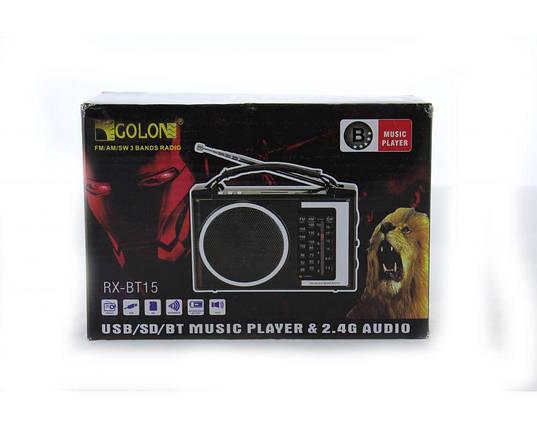 Радиоприемник колонка MP3 Golon RX-BT16 Bluetooth, фото 2