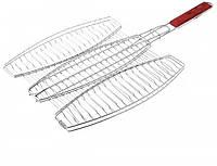 Решетка сетка барбекю для рыбы Empire EM0133 на три рыбы