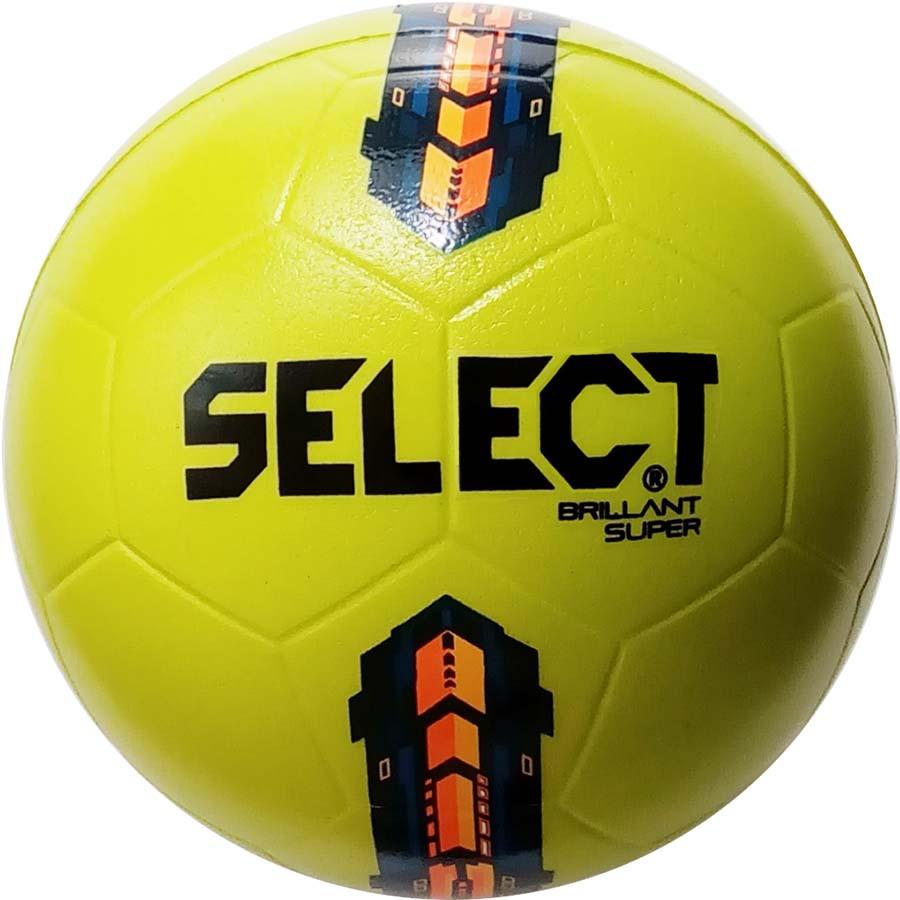 Мяч сувенирный SELECT Foam ball, желтый
