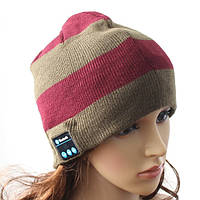 Шапка с bluetooth наушниками SPS Hat BT Red Brown