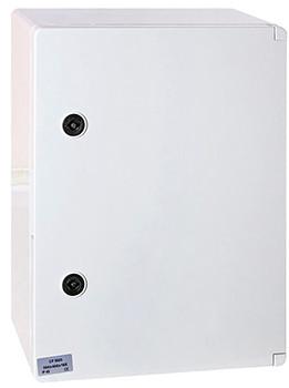 Шкаф ударопрочный из АБС-пластика e.plbox.300.400.165.blank, 300х400х165 мм, IP65