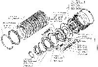Барабан фрикциона 7548-1711612 погрузчик МоАЗ-40484, МоАЗ-750511