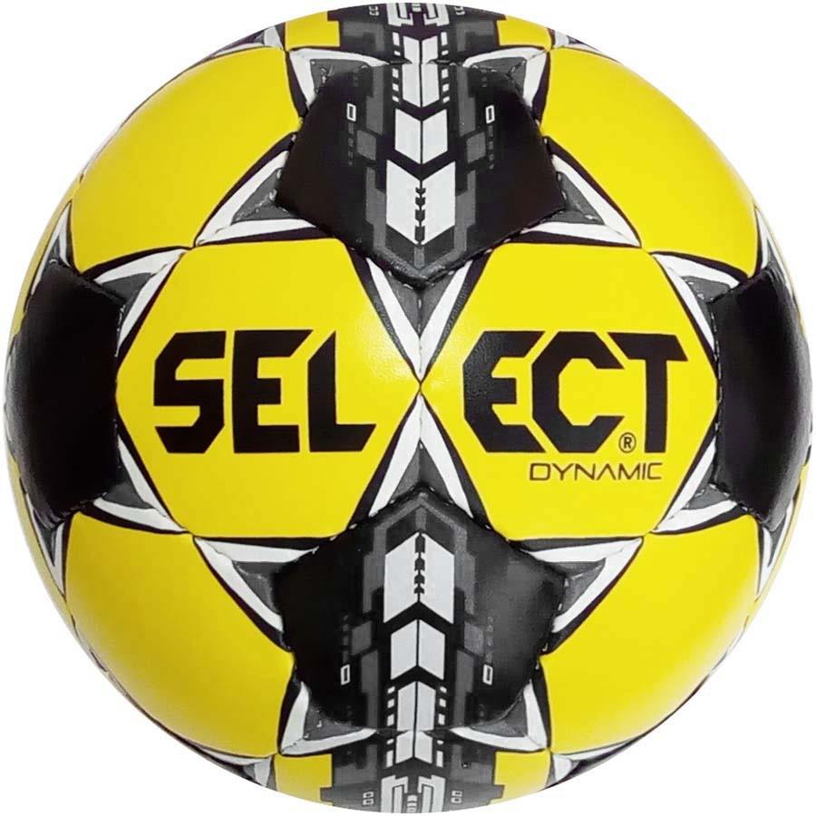 Мяч футбольный SELECT Dynamic желт/черн размер 5