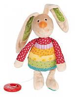 Мягкая музыкальная игрушка sigikid Кролик 27 см 40577SK