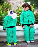 """Детский спортивный костюм на синтепоне 1037 """"ADIDAS"""" в расцветках"""