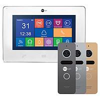 NeoLight Mezzo и NeoLight Solo комплект видеодомофона