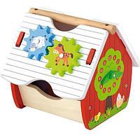 Деревянный сортер Viga Toys Веселая ферма (50533)
