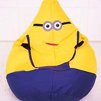 Детское кресло мешок Желтый миньён