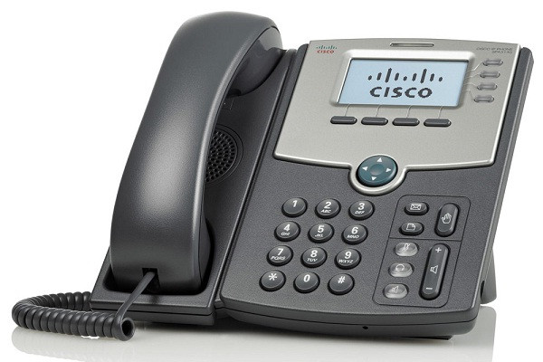 IP-телефон Cisco SB Gigabit 4-Line IP Phone with 2-Port GE Switch and LCD Display (PoE only, no Power Supply incl