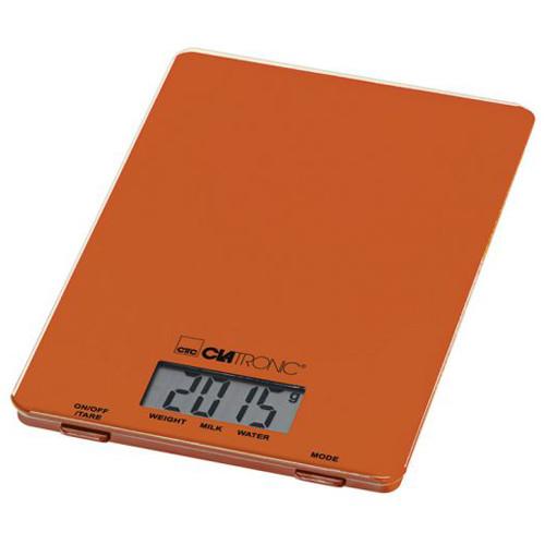 Весы кухонные CLATRONIC KW 3626 Orange