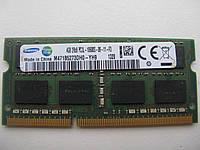 Память SoDIMM Samsung DDR3-1333 4GB 2Rx8 PC3L-10600S-09-11-F3