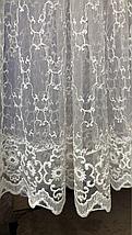 Тюль фатин №301 крем оптом, фото 3