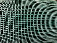 Декоративная садовая решетка Intermas-Nortene Minisquare 120 темно-зеленая, 1,2 м *50 м
