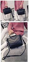 Черная женская сумка Bufam