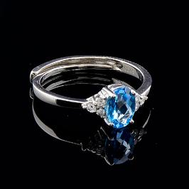 Кольца с ювелирными камнями