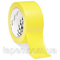 3М 7641 жовтий скотч для розмітки підлоги (50мм х 33м х 0,13 мм)