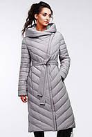Женское зимнее пальто Фелиция, большие размеры  52 - 60, ТМ NUI VERY