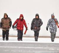 Зимові костюми для полювання та риболовлі українського виробництва