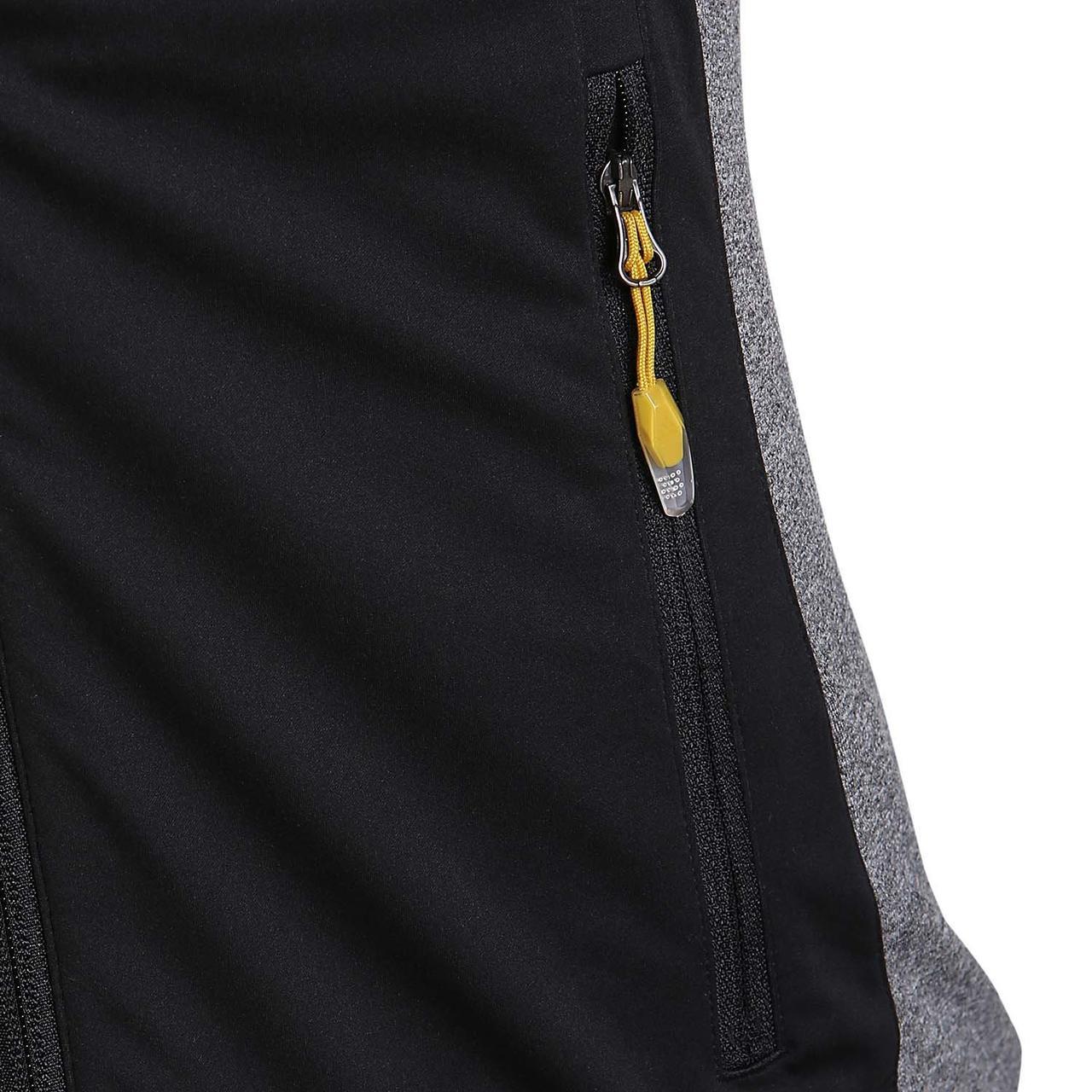 6d1832c7a66b ... Олимпийка спортивная мужская adidas Xperior S92304 (серая, для бега,  молния, профессиональная, ...
