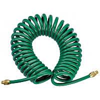 Шланг полиуретановый  спиральный 6,5ммх10мм,  15м