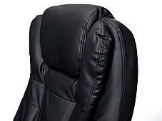 Офисное массажное кресло Veroni черное, фото 3