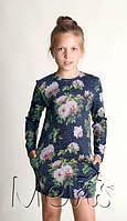 Модная туника для девочки подростка Mevis Украина