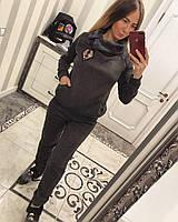 Спортивный костюм женский трикотаж на меху