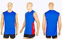 Форма волейбольная мужская 6503M-BL(M) (полиэстер, р-р M-155-160см(50-55кг), синий), фото 1