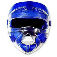Шлем для единоборств с прозрачной пластиковой маской PVC EVERLAST EV-5009S
