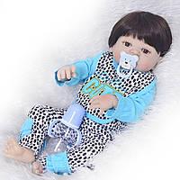 Силиконовая кукла реборн девочка. (1402), фото 1