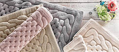 Gelin home килимок ERGUVAN 140х200 gul kurusu. темно-рожевий