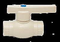 Кран шаровый PP-R для холодной и горячей воды ⌀ 50 мм