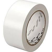 Разметочная лента 3М 764 для маркировки пола (50мм х 33м х 0,13мм) белый цвет