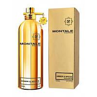 Парфюмированная вода Montale Amber and Spices (Янтарь и Специи),100 мл