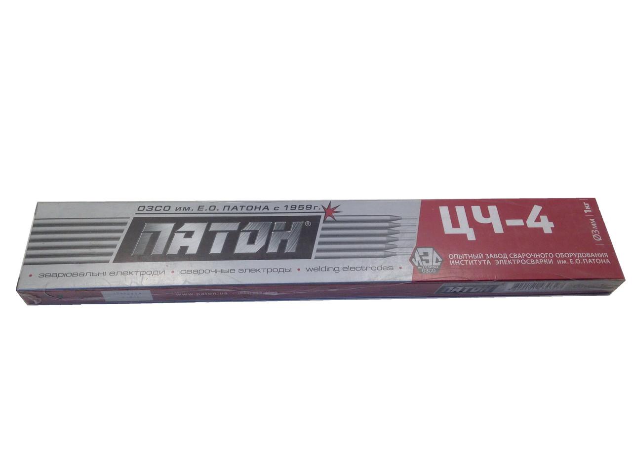 Электроды по чугуну ЦЧ-4 ф3/1кг, Патон