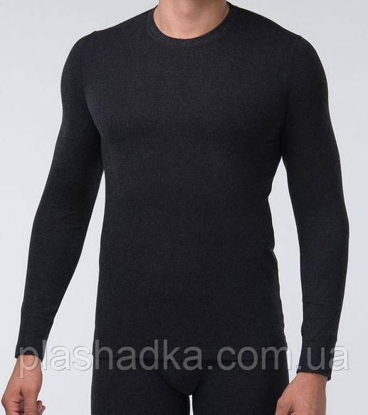Термоджемпер мужской черный Kifa. р. S-4XL