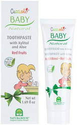 Зубна паста «Червоні ягоди» Natura House Baby Cucciolo Toothpaste