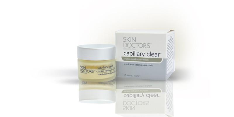 Skin Doctors Capillary Clear - лечение и укрепление капилляров, 50 ml. - Medort - Ортопедическая продукция, товары для здоровья в Киеве