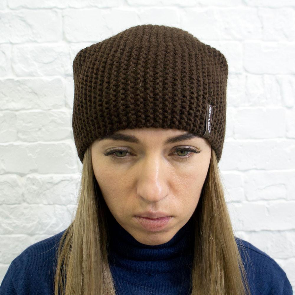 вязаная шапка с ушками Габриэлла 4390: 260 грн - шапки зимние ... | 1000x1000