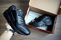 Мужские кроссовки ЗИМНИЕ Nike Air Huarache/Black