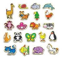 Набор магнитных фигурок Viga Toys В мире животных 20 шт (58923VG)