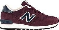 Мужские кроссовки New Balance 670 Burgundy/Navy (Нью Баланс) бордовые